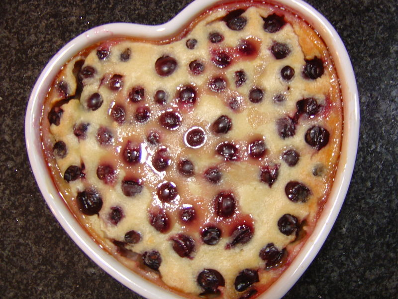 clafoutis au cook in