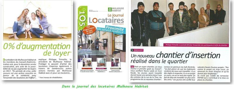 Quartier Drouot - Mulhouse Habitat