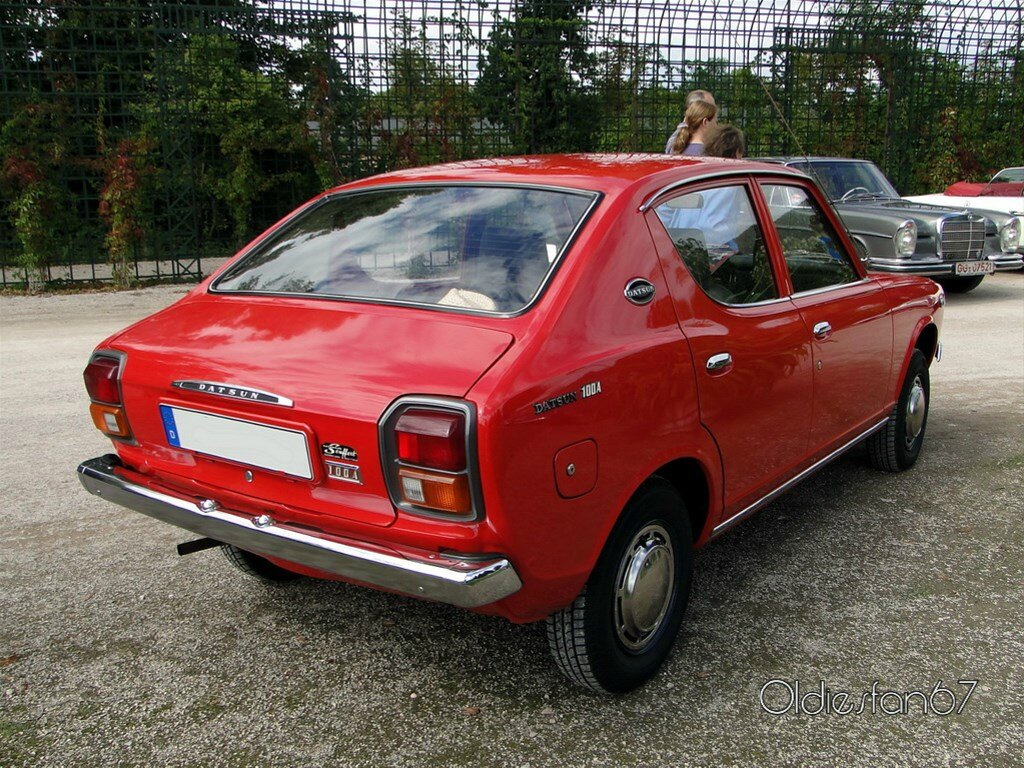 Datsun 100a Cherry Berline 4 Portes 1970 1974