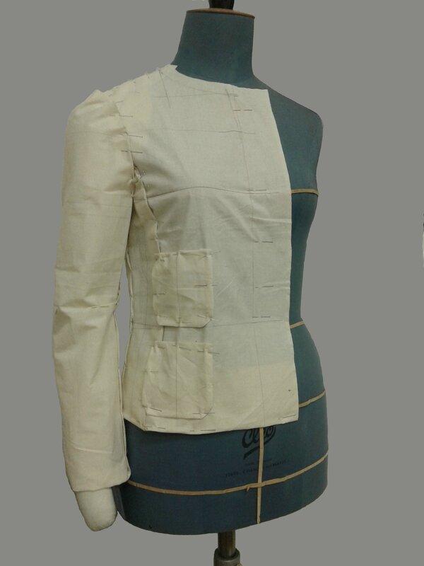 patron couture gratuit petite veste style chanel