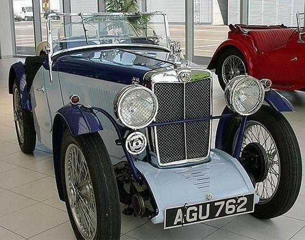 1933 - MG - J2