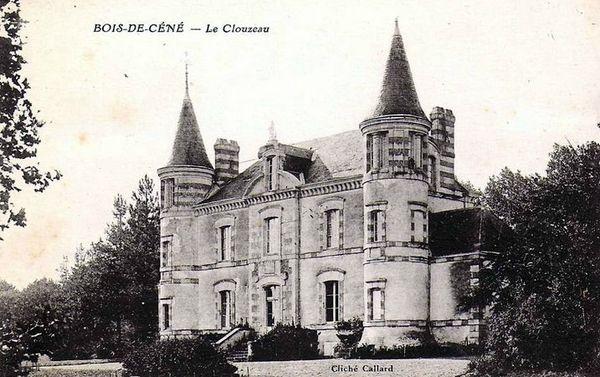 Bois de Cené Château du Clouzeau