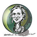Nathalie Kosciusko-Morizet caricature
