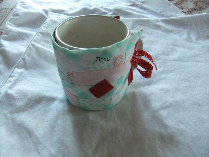 Couvre mug en action