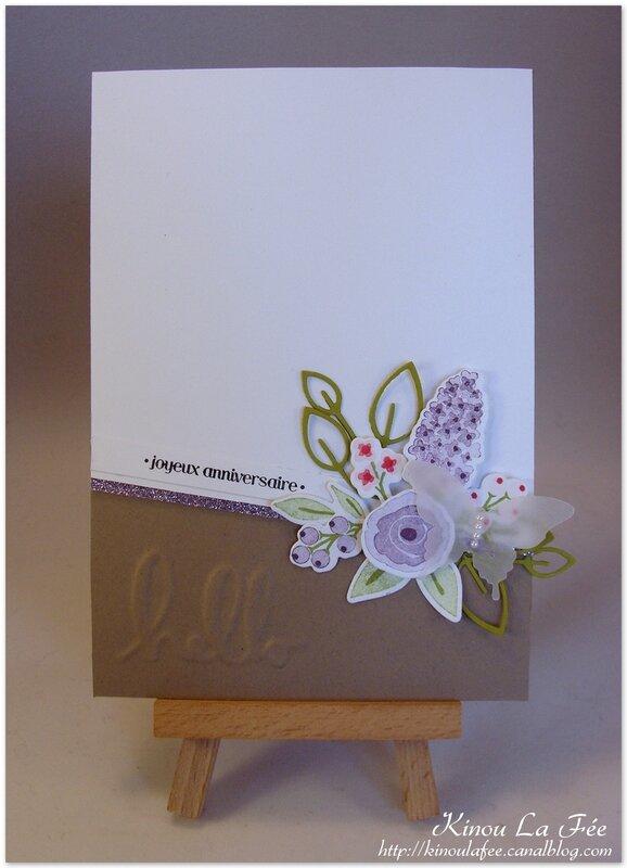 Carte Wplus9 Bouquet Violet 1