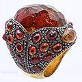 Sevan biçakçi. pomegranate ring.