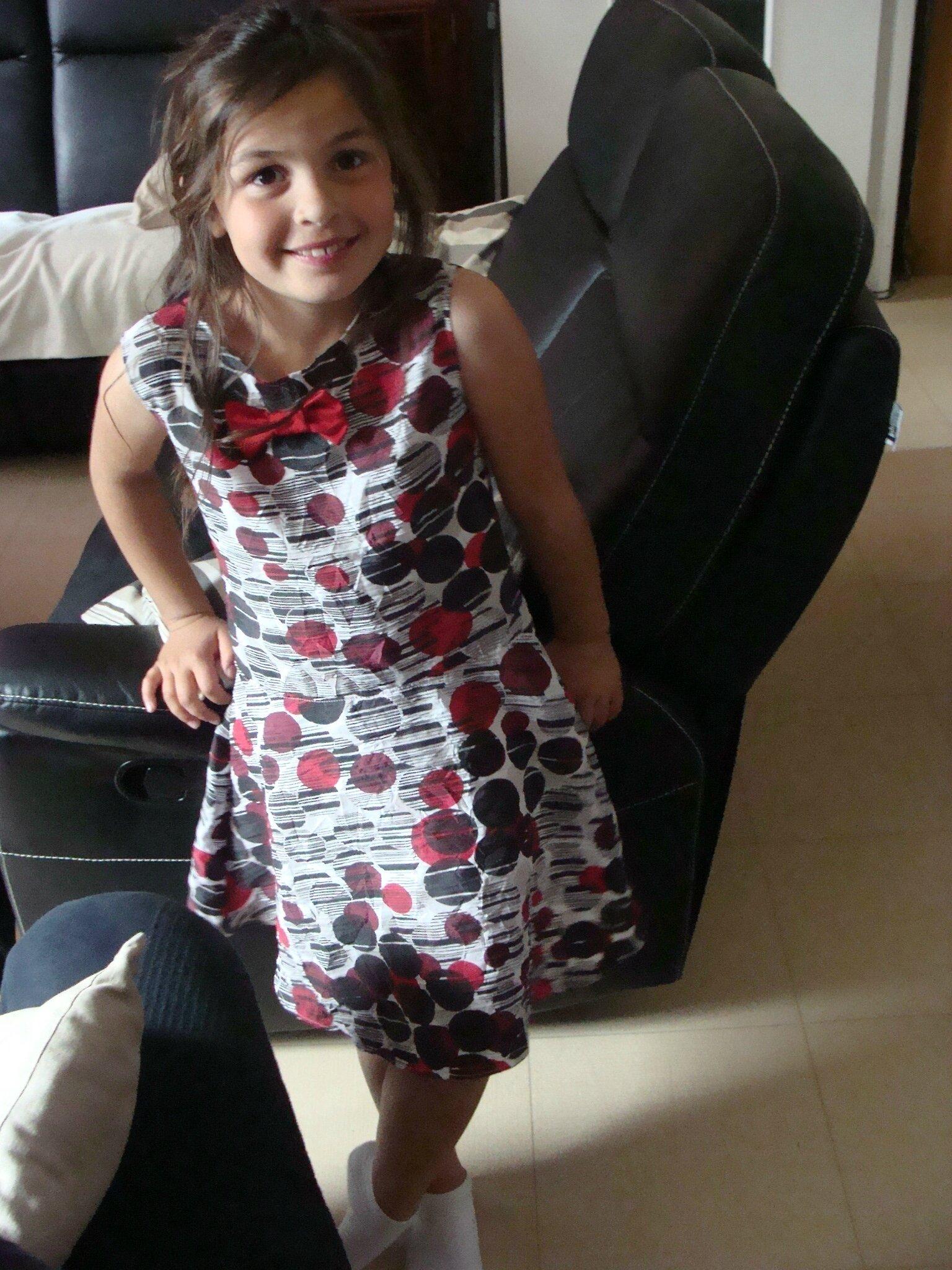 tunique peplum transformé en robe