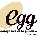Les stickers guirlande de fifi mandirac dans le magazine egg