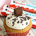 Cupcakes au kinder® maxi