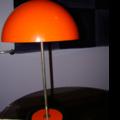 Lampe champignon orange