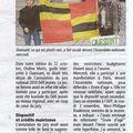 Ondine, porte-drapeau d'ouessant