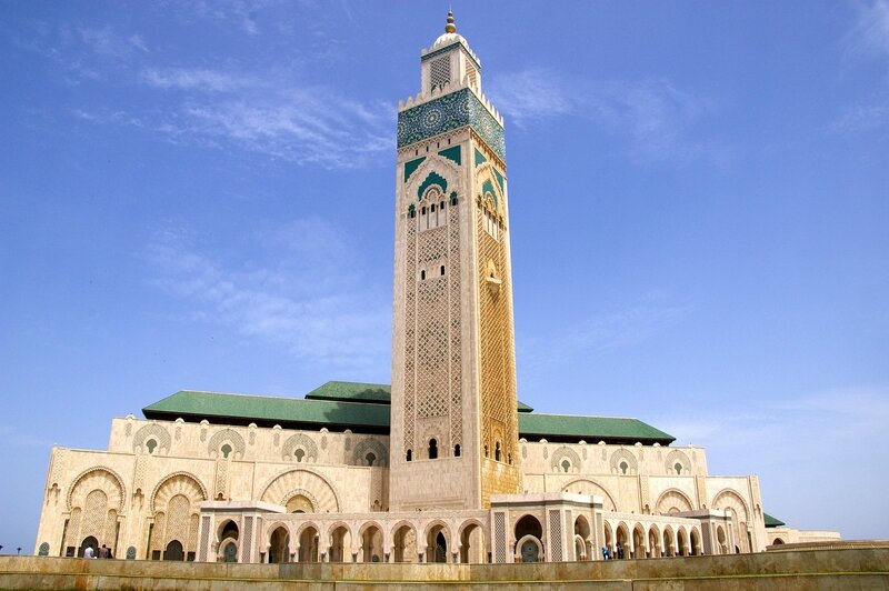 Mosqu e hassan ii casablanca maroc photo max for Mosquee hassan 2 architecture