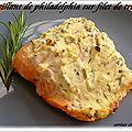 CROUSTILLANT DE PHILADELPHIA SUR FILET DE TRUITE 