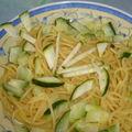 Spagetti courgette