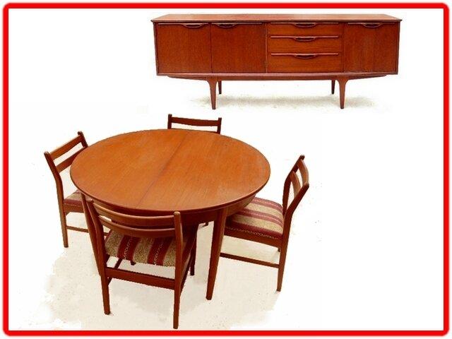 Salle à manger JENTIQUE design danois 1960