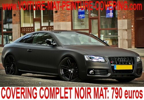 audi a5 noir mat audi a5 noir mat audi a5 covering noir. Black Bedroom Furniture Sets. Home Design Ideas