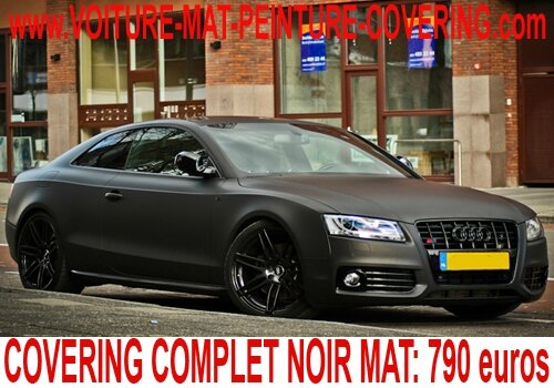 audi a5 noir mat audi a5 noir mat audi a5 covering noir mat audi a5 peinture noir mat audi. Black Bedroom Furniture Sets. Home Design Ideas