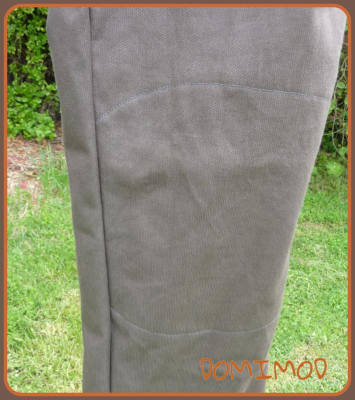 Pantalon marron coco 2