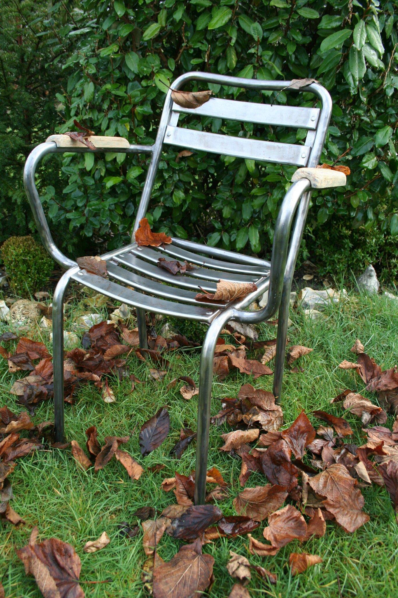 fauteuil bistrot x4 album photos r tro industriel. Black Bedroom Furniture Sets. Home Design Ideas