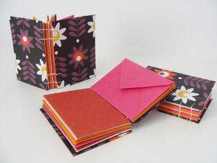 Carnets à enveloppes