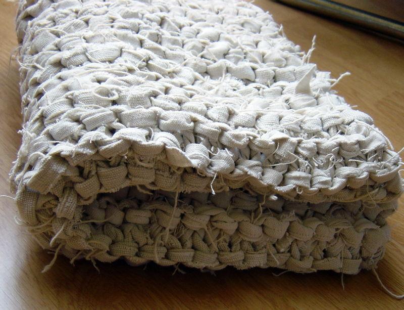 le tapis de bain 100 recycl io l 39 ho fatto. Black Bedroom Furniture Sets. Home Design Ideas