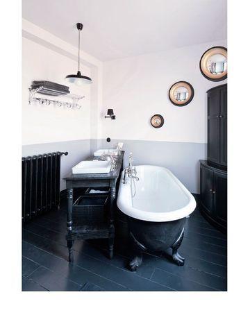 Inspirations les baignoires pattes de lion sonia saelens d co - Salle de bain ancienne ...