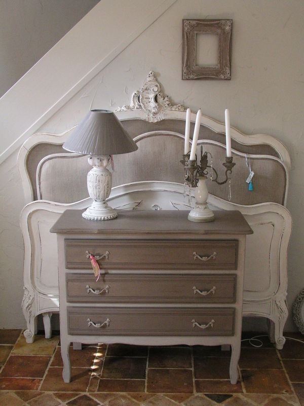 Commode Taupe Patines Cie