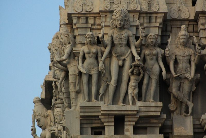 Sculptures du temple de Thiruvannamalai