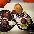 Tradition les mendiants de noël chocolat