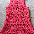 Petite robe en 1 an