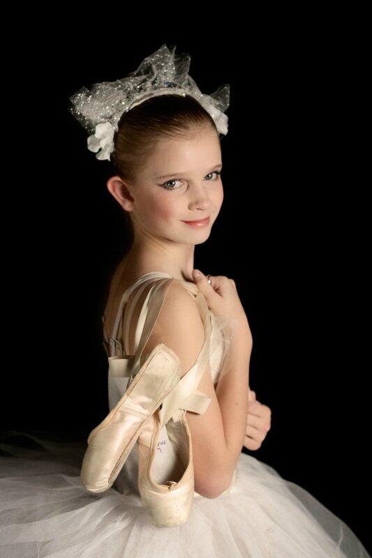 belle jeune danseuse