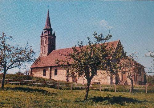 Le Mesnil-Mauger - l'église