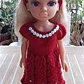 Brooke et sa nouvelle robe