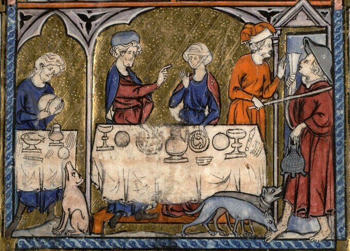 un banquet 224 en 1295 l arch 233 ologie exp 233 rimentale 224 l 233 cole