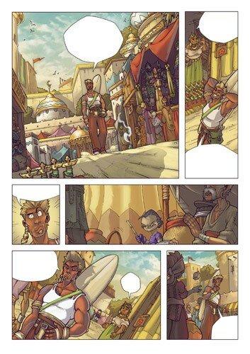 Page colo pour le dossier Totem ( Line:Ceyles )