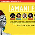 Festival amani à bruxelles - 9.10.2015