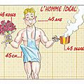 Les 10 atouts de l'homme idéal