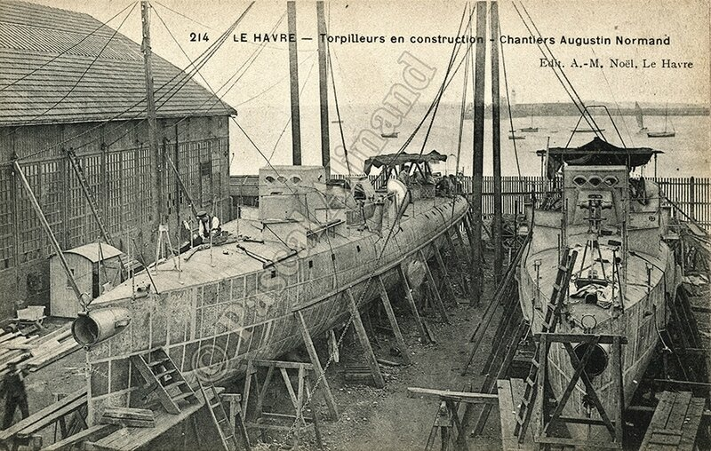 Chantiers A Normand P Alinand ALG