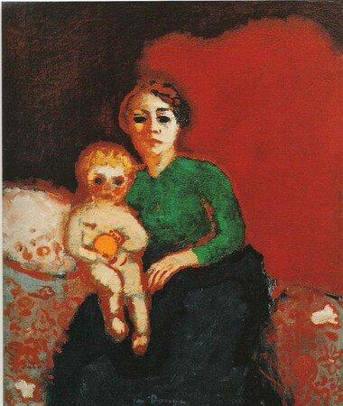 Femme_et_son_bambin_1906_de_Kees_Van_Dongen