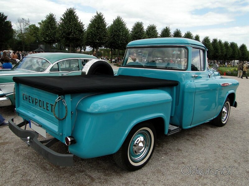 chevrolet 3100 pickup stepside 1957 b