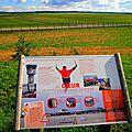 Promenade à vélo jusqu'aux belvédères de l'aéroport st-exupery (satolas) à pusignan et colombier-saugnieu (est-lyonnais/rhône)
