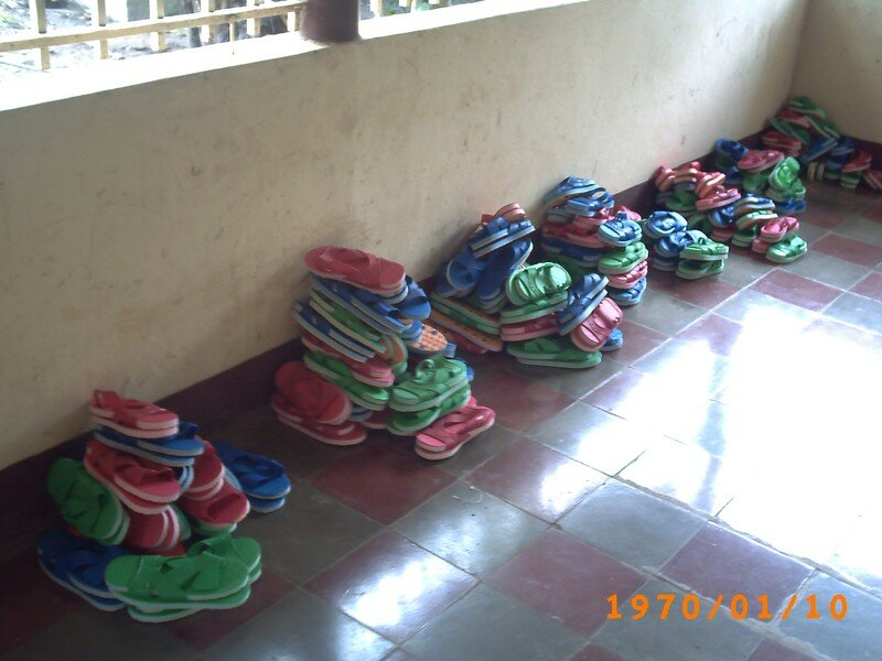 020 Les sandales!