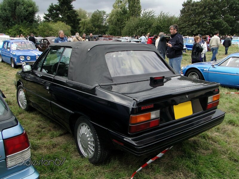 Renault alliance gta 2,0l cabriolet 1987 b