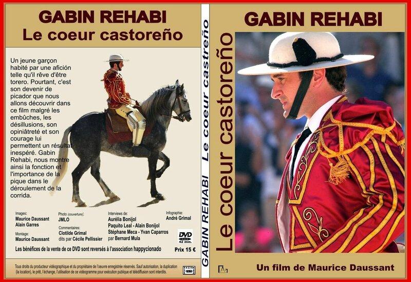 #JAQUETTE DVD GABIN REHABI avec AURELIA rectifié