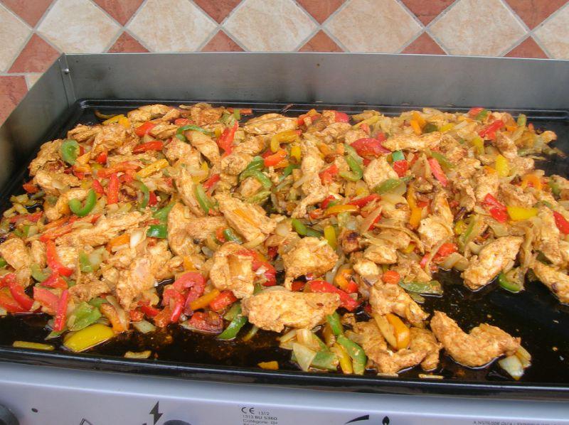 Eminc de poulet la plancha photo de cuisine scrap fil for Cuisine 0 la plancha