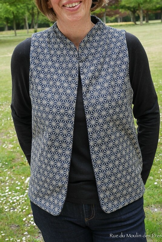 Quilted Vest Purl Soho 06