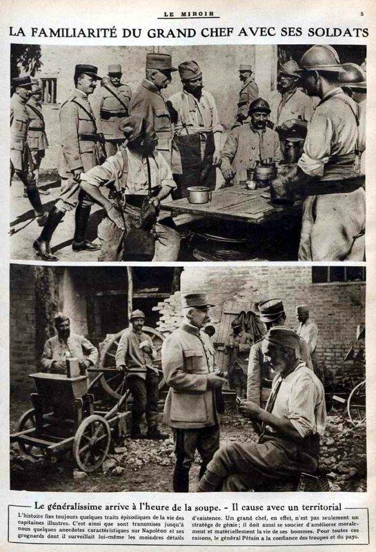 Pétain parmi ses hommes2
