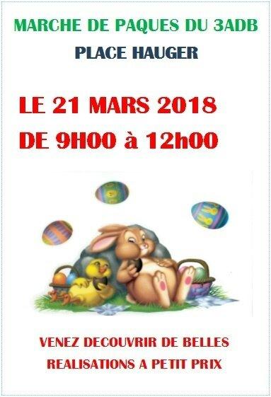 Quartier Drouot - Marché de Paques du 3ADB