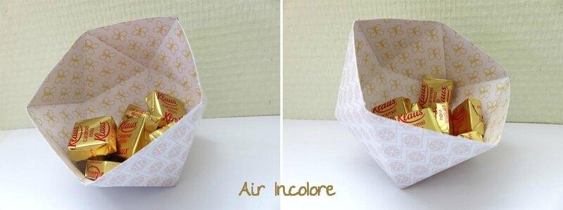 vide-poche origami