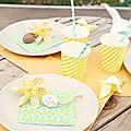 Douceur pastel, petits œufs et moulin à vent
